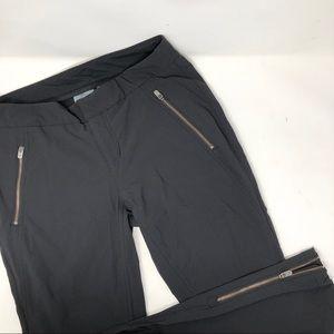 Athleta thick ankle zip skinny pants 8 B2